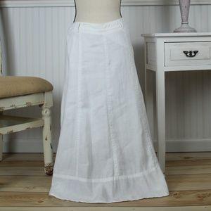 Liz Claiborne Cotton Full Skirt Size 4